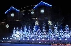 Luci di Natale a tempo di musica
