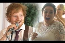 La Sorpresa di Matrimonio è Ed Sheeran
