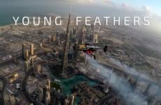 Uomini volanti avvistati a Dubai