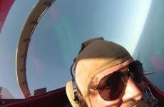 Volo acrobatico filmato con la GoPro