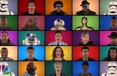 Il Cast di Star Wars canta la Colonna Sonora