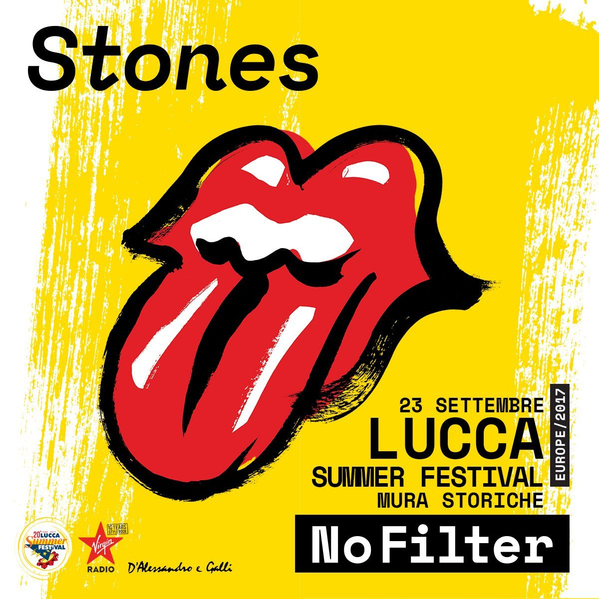 Prevendita biglietti Rolling Stones, concerto Lucca - 23 ...