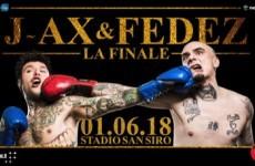 J-AX e Fedez: la scaletta concerto di Milano San Siro