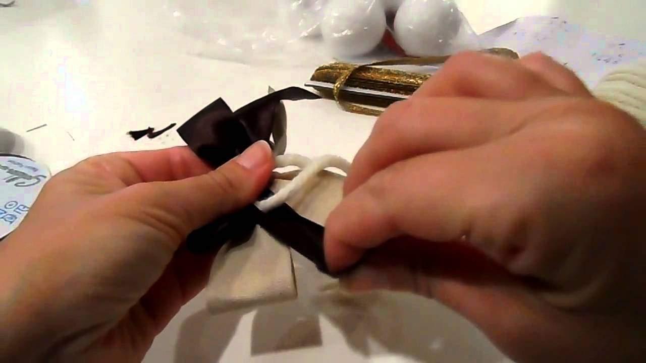 Video tutorial palline albero di natale fai da te for Palline di natale fai da te tutorial