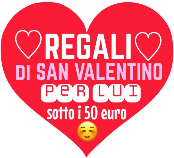 regali san valentino 2017 per lui, originali e sotto i 50 euro