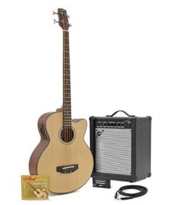 basso elettroacustico + amplificatore da 35W