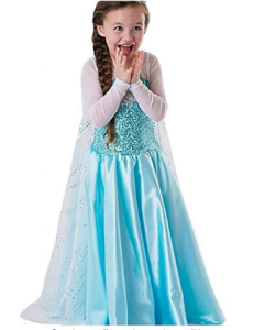 Elsa di Frozen costume carnevale bambina