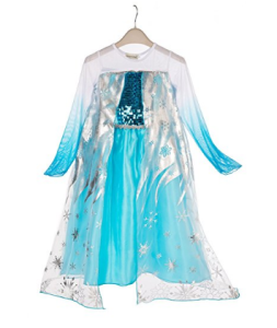 vestito frozen carnevale bambina costume