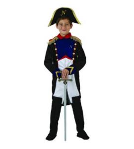 napoleone costume carnevale bambini
