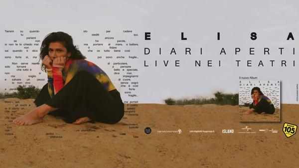 Canzoni concerti Elisa 2019