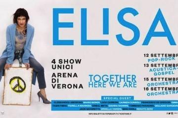 Elisa, Arena di Verona 2017: la scaletta dei concerti