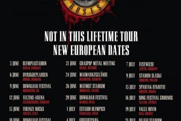 Guns N' Roses in concerto a Firenze: biglietti e info