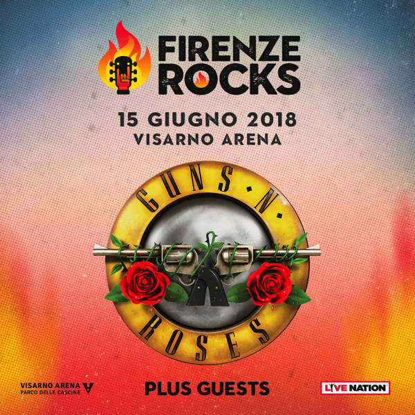 Guns N Roses, scaletta concerto