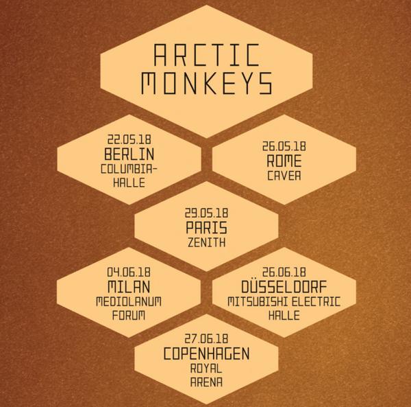 Arctic Monekys, la scaletta del concerto
