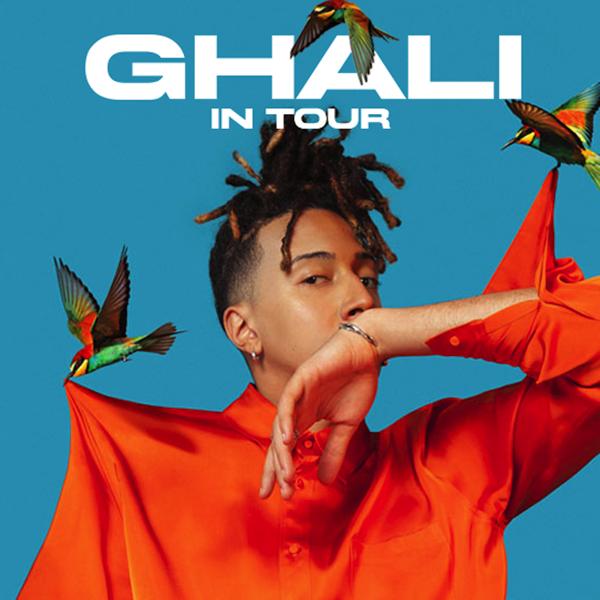 Ghali in Tour nel 2018: la scaletta