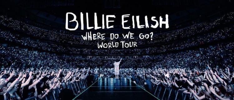 Billie Eilish, scaletta concerto 2020